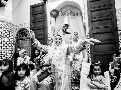 cérémonie du henné à Meknes, Maroc