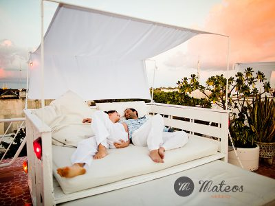 esession on the beach, playa del carmen