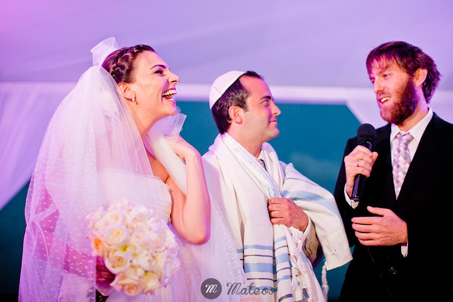 jewish wedding on the beach at playa del carmen