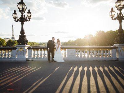intimate marriage in Paris