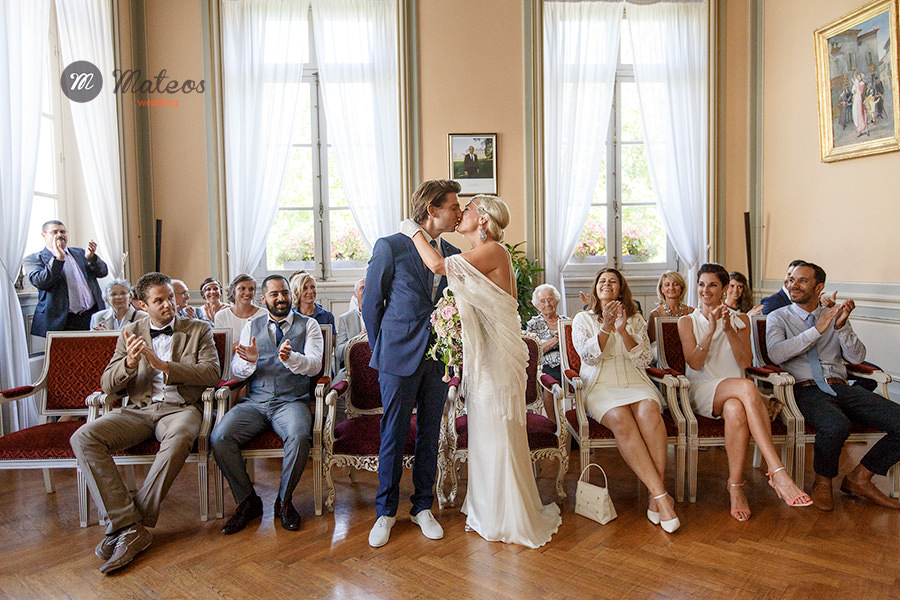 french wedding at home