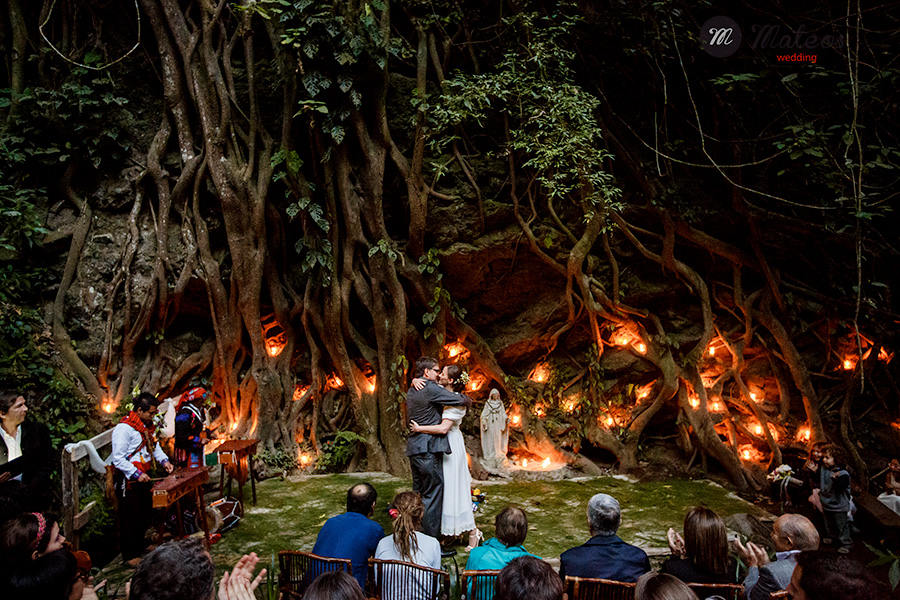 wedding ceremony in the jungle of Guatemala and day after in Antigua