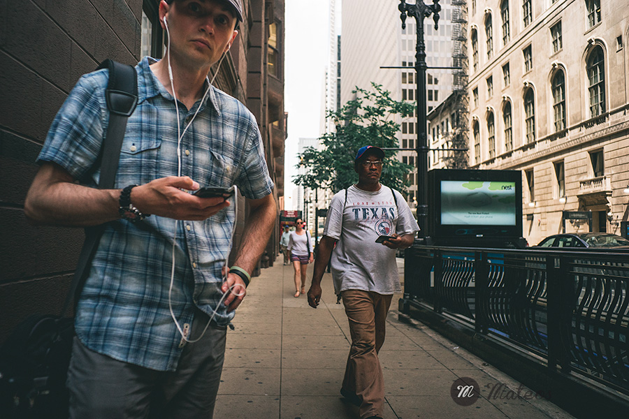 street photography in chicago