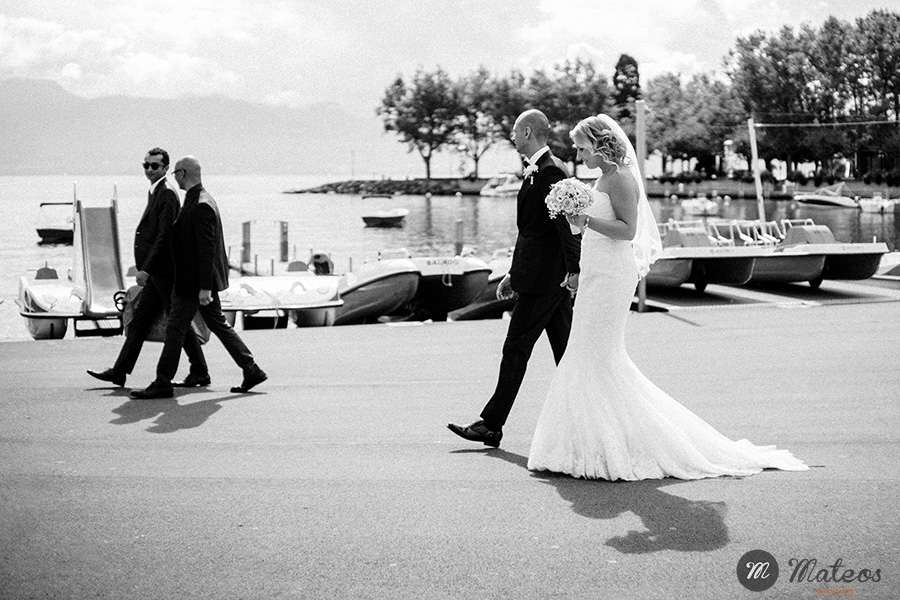 a wedding in switzerland, porte des iris