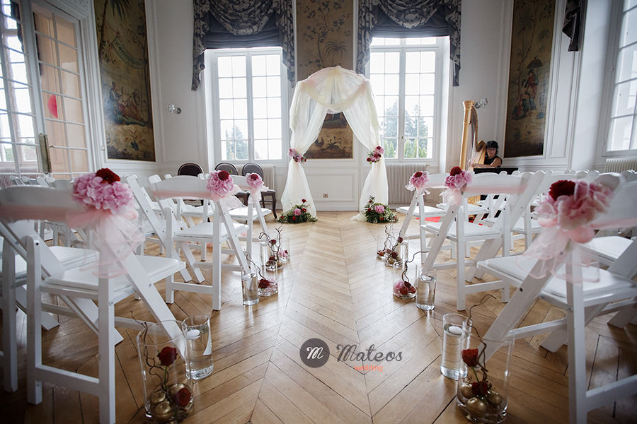 wedding at chateau de la cazine