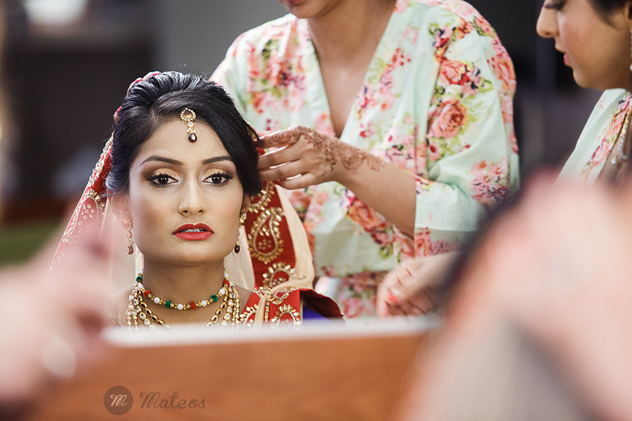 in indian wedding in chicago with a modern approach