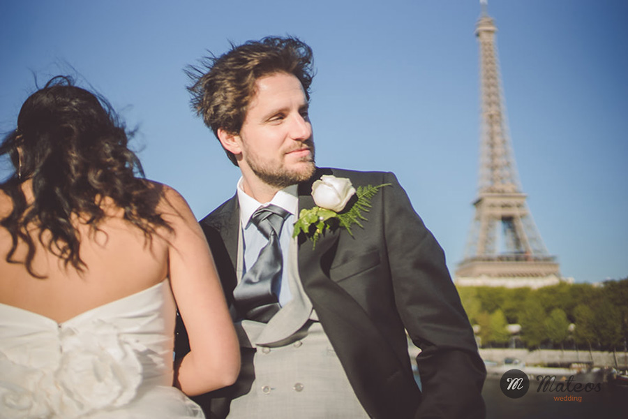 an french wedding style in paris