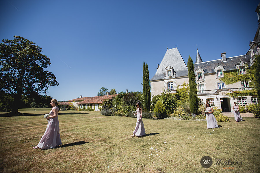 a wedding in dordogne,mas de montet