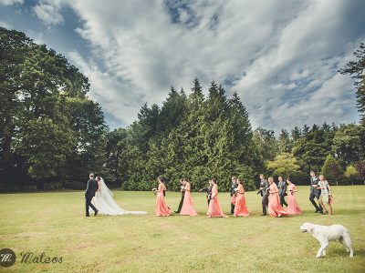 wedding at Chateau de Servigny