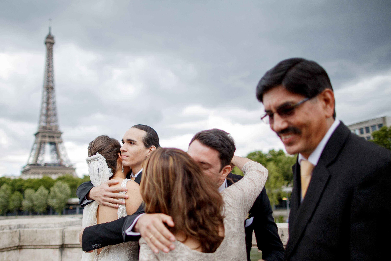 Elopement in Paris - Mateos wedding