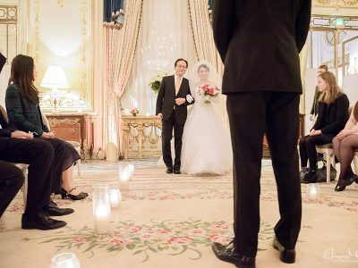 Wedding at le Meurice, Paris