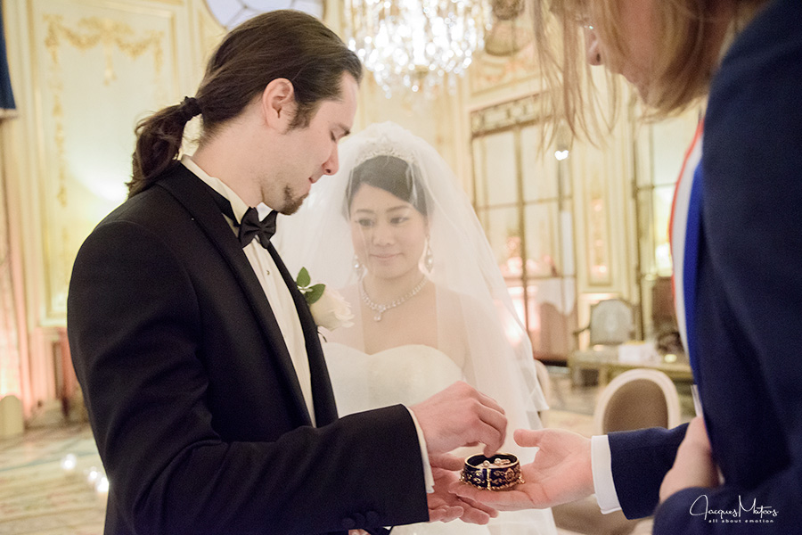 wedding at le meurice