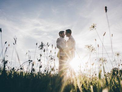 destination wedding in countryside