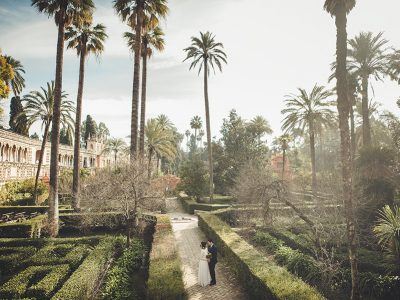 elopement in Seville, Spain