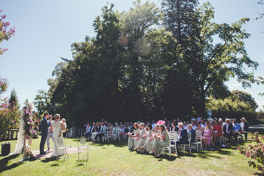 wedding in perigord, chateau de la durantie