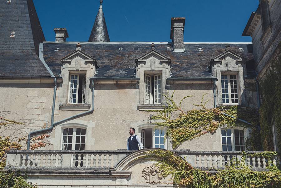 wedding at chateau mas des montets in dordogne