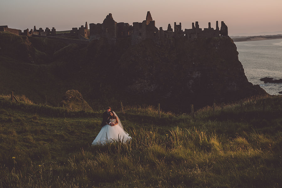 Dunluce castle photoshoot