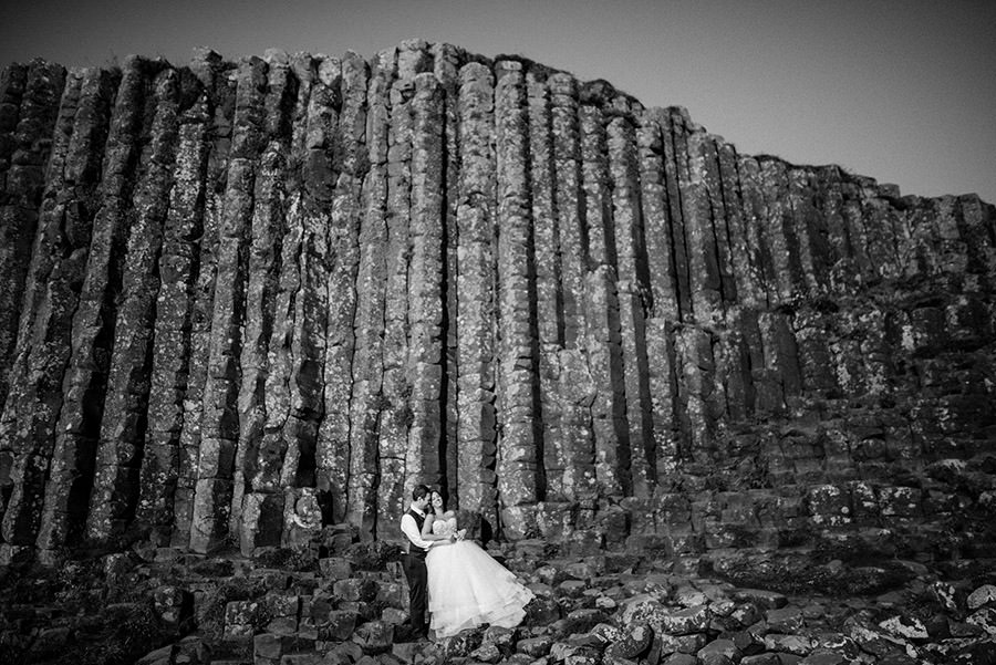photoshoot in giant causeway