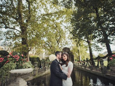 Elopement in Paris, jardin du Luxembourg