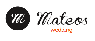 Mateos wedding logo